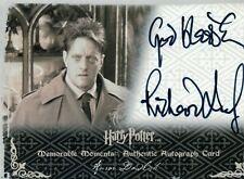 Harry Potter MM1 AUROR DAWLISH / RICHARD LEAF Autograph Card MINT