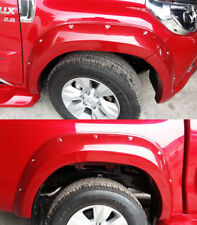 Fender Flares Flare Wheel Red For Toyota Hilux Revo SR5 M70 M80 2015 16 17 18