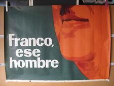 FRANCISCO FRANCO ESE HOMBRE HITORICO 3 HOJAS MIDE 205X100
