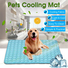 Pet Summer Cooling Mat Cool Ice Pad Comfortable Cushion for Dogs Cats Puppy