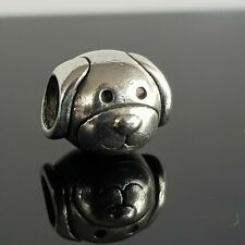 Genuine Sterling Silver PANDORA Devoted Dog Charm 791707 S925 ALE