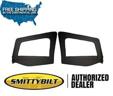 Smittybilt Door Skins Only - No Frames 97-06 Jeep Wrangler TJ LJ 89735 Black