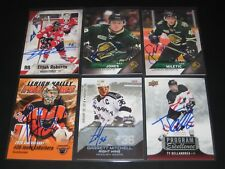 TY DELLANDREA autographed '17 Upper Deck TEAM CANADA Program of Excellence card