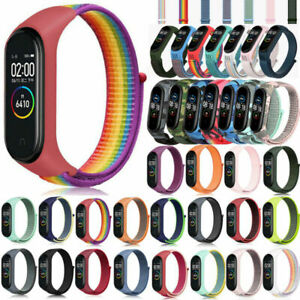Für Xiaomi mi Band 3/4/5/6 Uhrenarmband Smart Armband Silikon SPORTS Armband N