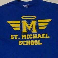 Saint MICHAEL Catholic Church School HALO Logo T Shirt FREE Shipping size Small