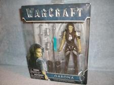"""Garona Warcraft Green Orcs 6"""" Figure Spear Dagger 14 pts Articulation Jakks New"""