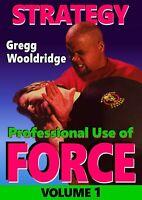Professional Use of Force #1 Bodyguard Executive Protection DVD Gregg Wooldridge