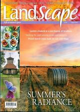 LANDSCAPE MAGAZINE AUGUST 2018 ~ NEW WITH FREE FAST P&P ~
