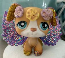 OOAK LPS Littlest Pet Shop Hasbro Dog Puppy With Wings Hand Painted Custom