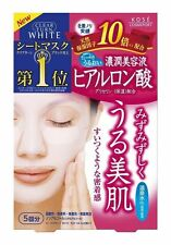 KOSE☀ Hyaluronic acid  Moisturizing Face Mask Cosmeport Skincare 5 pieces Japan