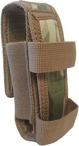TAS MULTICAM CAMO MULTIPURPOSE KNIFE POUCH HUNTING/CAMPING/CADETS 14X3.5X3