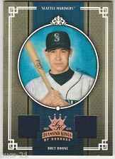 2005 DIAMOND KINGS DONRUSS BRET BOONE GAME WORN USED CARD #204 NUMBERED 152/200