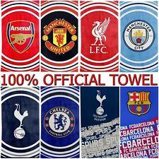 100% OFFICIAL FOOTBALL CLUB TEAM IMPACT FC TOWELS BEACH BATH GYM SWIM LICENSED