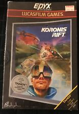 Epyx & Lucasfilm Koronis Rift Tandy Color Computer Factory Sealed