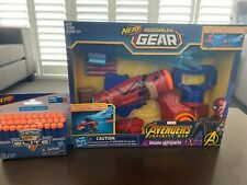 Brand New -Nerf Assembler Gear Avengers Gun Iron man Plus Bonus Bullets