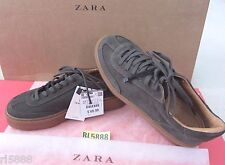 NWT ZARA TRF Chic Color Suede Sneakers 7711/101 100% Cow Leather Size 6.5 $69.9