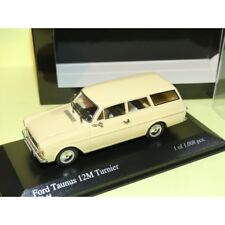 FORD TAUNUS 12M BREAK 1962 Crème MINICHAMPS 1:43