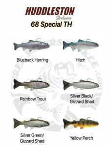 Huddleston Deluxe 68 Special Swimbaits - Choose Pattern / Rate of Fall