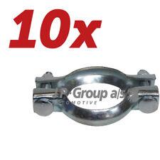 10x JP Group Klemmstück, Abgasanlage Renault, CitroËn, Peugeot, Fiat,