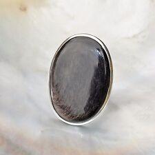 Hypersthen Ring, 925er Silber, Edelsteinring (21481), Edelsteinschmuck