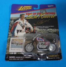 JOHNNY LIGHTNING EVEL KNIEVEL MOTORCYCLE damaged package