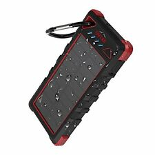 [Upgrade] OUTXE 16000mAh Rugged Power Bank IP67 Waterproof Solar Portable