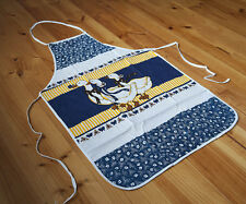 Vintage Country Style Pure Cotton Printed Geese Floral Kitchen BBQ Bib Apron