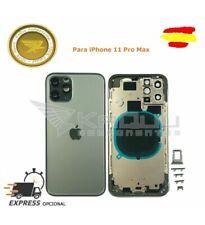 Chasis (Carcasa Marco y Tapa) para iPhone 11 Pro Max A2161 VERDE COMPATIBLE
