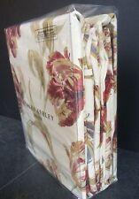 "Laura Ashley Curtains Gosford Paprika 88"" W x 90"" 223 cm x 229 cm Rare"