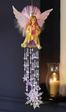 Fiber Optic Hanging Angel Dangler Decoration, by Collections Etc