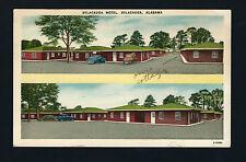 Sylacauga Alabama Al 1940s Linen Style Pc, Sylacauga Motel - 60 Rooms, Old Cars