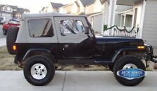 Jeep Wrangler Replacement Soft Top With Upper Skins Gray Fits 1994 Jeep Wrangler