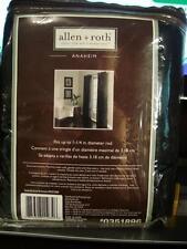 """Allen + Roth Anaheim Black Grommet Panel 52"""" x 84"""" BRAND NEW #0351896"""
