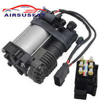 Air Compressor Pump + Valve Block for Jeep Grand Cherokee 2011-2016 68204730AB