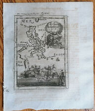 MALLET: Original Engraving Map Philippines - 1718 (NS)
