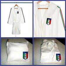 ACCAPPATOIO ITALIA FIGC BASSETTI MICROFIBRA UNISEX tg XS/S CALCIO FEDERAZIONE BI