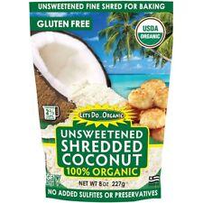 Edward & Sons, Organic Shredded Coconut, Unsweetened, 8 oz (227 g)