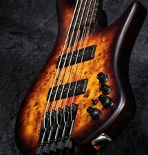 Neues AngebotE-Bass IBANEZ EHB Serie EHB1500-DEF 4 String Dragon Eye Burst Flat + Gigbag