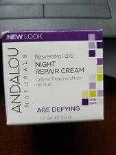 Andalou Naturals Perfecting Cream Goji Peptide 1.7 oz each Age Defying