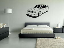 M3 E30 BMW Style Wall Art Vinyl Decal Transfer Sticker Home Removable Stunning