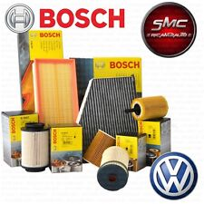 Kit tagliando 4 FILTRI BOSCH VW POLO 1.4 TDI 9N dal 2000 al 2005