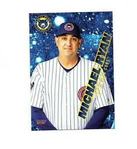Michael Ryan 2021 South Bend Cubs Baseball card Indiana PA Chicago Cubs