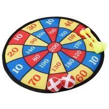 Fabric Dart Board Set Kids Ball Target Game Throwing Sport Hobby Xmas Gift - 6A