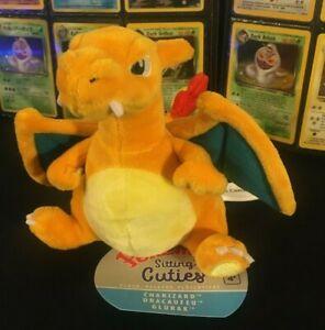 "Charizard 7"" Pokémon Center Original Sitting Cuties Plush New"