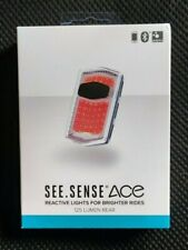 See.Sense Rear Smart Light USB Rechargeable 125 Lumens App Controlled