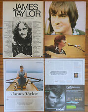 JAMES TAYLOR spanish clippings 1970s/00s photos beatles apple singer magazine