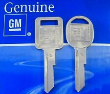 Genuine GM KEY SET 1968 1972 1976 80 87-89 C/D Chevy Cadillac Pontiac Olds Buick