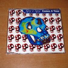 SPY V SPY - COMES A TIME ( CD SINGLE AUSTRALIA PROMO 2 TRACKS )