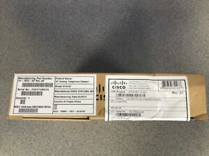 Cisco ATA187-I1-A Analog/IP Digital Adaptor Ethernet LAN/DSL & 6 months Warranty