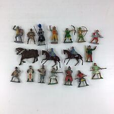 Job Lot Vintage Cherilea & Others Lead Metal Medieval Figures Robin Hood Type